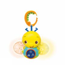 Bright Starts világító méhecske játék dallamokkal C karikán Beaming Buggie 0hó+