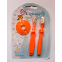 Baby Bruin fogápoló készlet Narancs