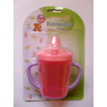 Baby Bruin kupakos itatópohár 320ml - Rózsaszín