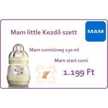 MAM Anti-Colic cumisüveg 130 ml krém + ajándék Mam start cumi