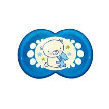 Mam Night szilikon cumi 6+ hónap Kék maci