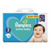 Pampers Active Baby Giant Pack pelenka 3 Midi - 90 db