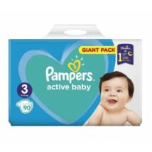 Pampers Active Baby Giant Pack pelenka 3 Midi - 90 db