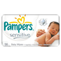 Pampers Sensitive törlőkendő 56 db