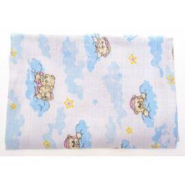 Baby Bruin mintás tetra pelenka 2 db - Felhős maci
