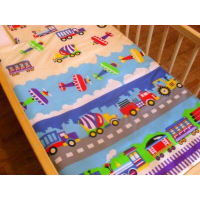 9 Hónap - 2 részes baba ágynemű - Munkagépek