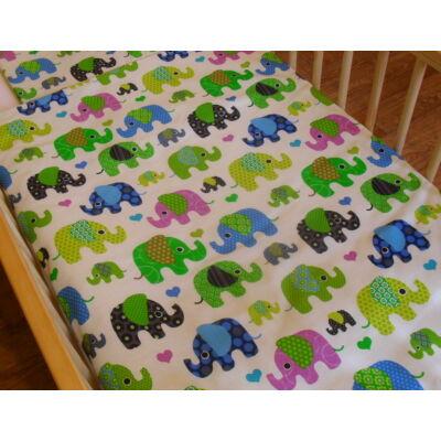 9 Hónap - 2 részes bébi ágynemű - Kicsi elefántok