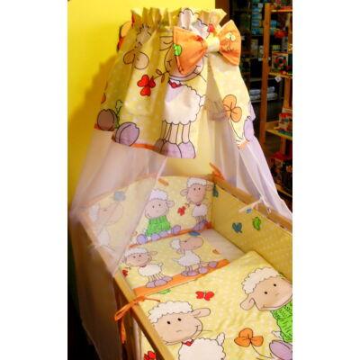 9 Hónap - 4 részes baba ágynemű - Narancs barika