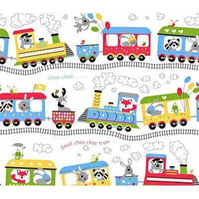 Ovis-gyermek ágynemű huzat - Megy a vonat Kanizsára