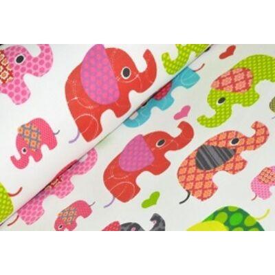 Ovis-gyermek ágynemű huzat - Pink elefánt