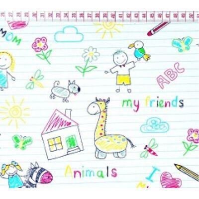Ovis-gyermek ágynemű huzat - Én rajzoltam