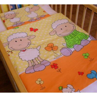 Ovis-gyermek ágynemű huzat - sárga bárány