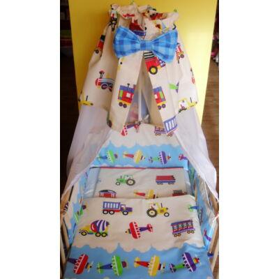 9 Hónap - 4 részes baba ágynemű - Munkagépek