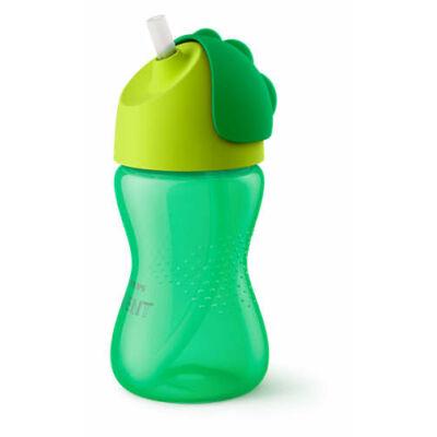 Philips Avent Itatópohár rugalmas szívószállal 300 ml Zöld