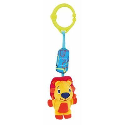 Bright Starts Plüss játék C gyűrűn oroszlán