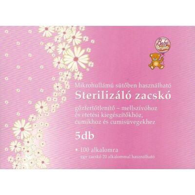 BabyBruin Sterilizáló zacskó mellszívóhoz cumikhoz 5 db-os