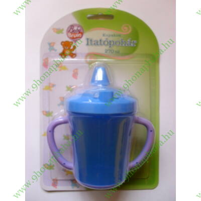 Baby Bruin kupakos itatópohár 320ml - Kék