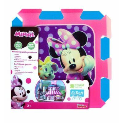 Minnie nagyméretű habszivacs puzzle 8 db - Mickey és Minnie -