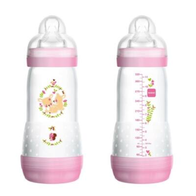 Mam Easy Start™ Anti-Colic 320ml Nature Guardian - Pink