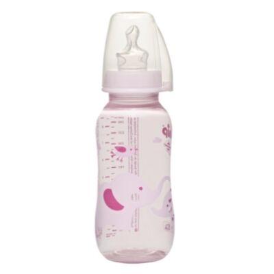 NIP PP standard cumisüveg 250ml rózsaszín