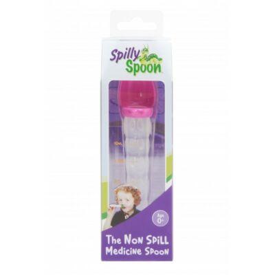 Spilly Spoon gyógyszeradagoló kanál rózsaszín