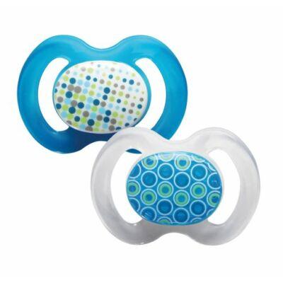 Baby-Nova szimmetrikus szilikon cumi 1-es méret - 2 db - kék