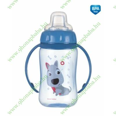 Canpol állatos itatópohár 320 ml  - 6 hónapos kortól - kutyus