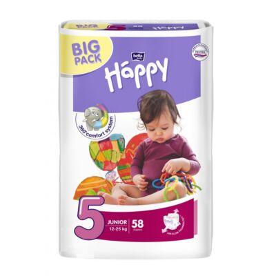 Bella Happy nadrágpelenka 5 Junior (12-25 kg) pelenka - 58 db