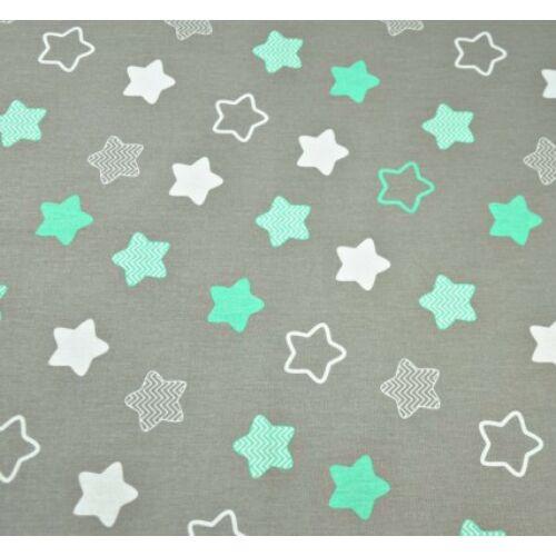 Ovis ágynemű szett - Menta csillag