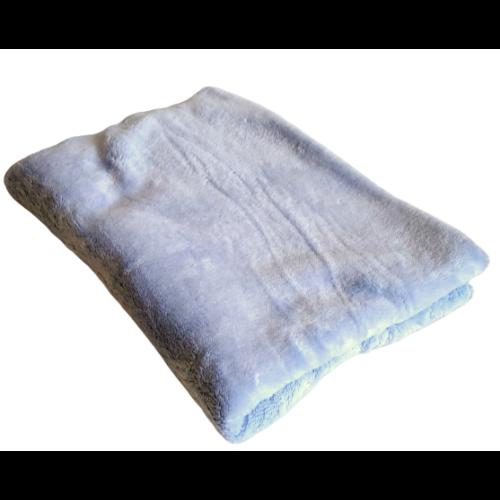 Cosy- plüss- takaró 120x175 cm Babakék
