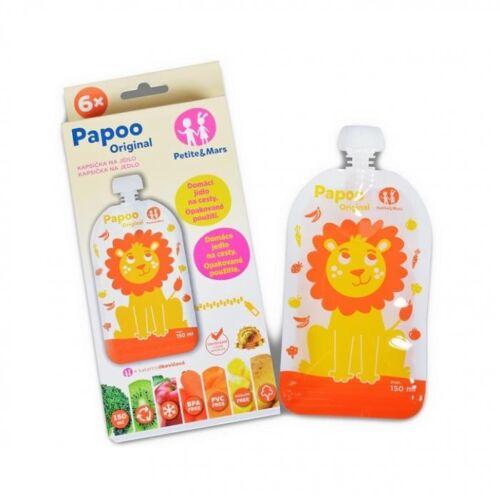 P&M Papoo tasak bébiételekhez oroszlán 6 db -  901808