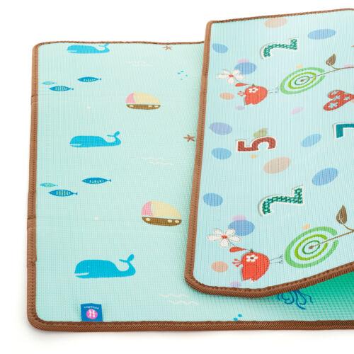 P&M Joy játszószőnyeg Nature 180x200x1cm - kétoldalú - 1 db