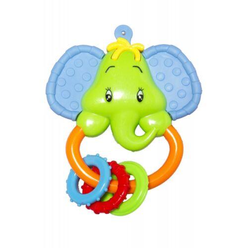 Baby Bruin Elefánt csörgő rágókás füllel