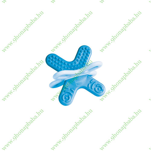 MAM Bite & Relax - 2. szakasz - hátsó fogakhoz sterilizáló dobozzal - Kék