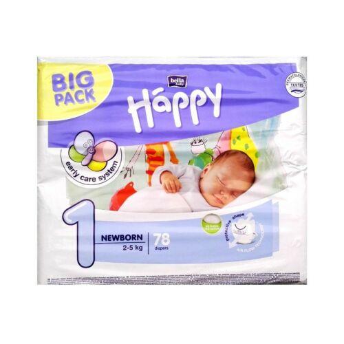 Bella Baby Happy nadrágpelenka 1 Newborn (2-5 kg) 78 db