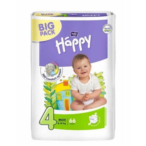 Bella Baby Happy nadrágpelenka 4 Maxi (8-18 kg) pelenka - 66 db