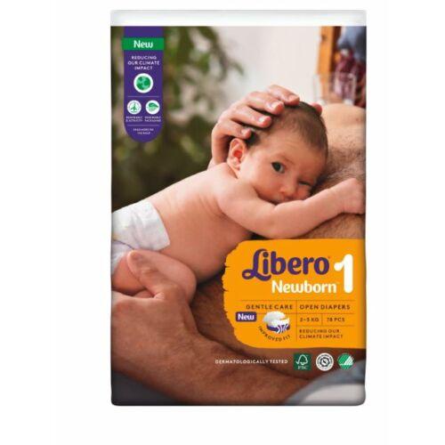 Libero Newborn 1-es 2-5kg - 78 db pelenka