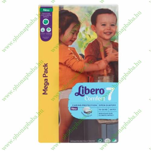 Libero Comfort Mega Pack 7-es 16-26 kg - 64 db pelenka