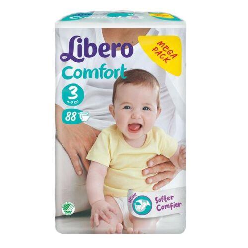Libero Comfort Midi Mega Pack New 5-9kg (3) 88 db pelenka