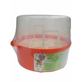 BabyBruin Mikrohullámú sterilizáló edény - narancs