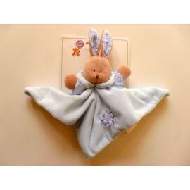 Baby Bruin Plüss nyuszi szundikendő 25x25 cm - babakék