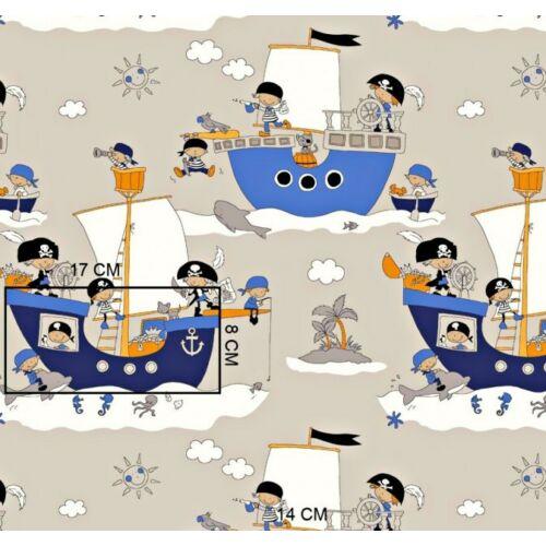 Ovis-gyermek ágynemű huzat - Kalózok
