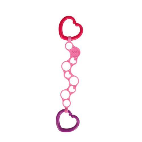 Oball O-links lánc játékokhoz- mix colours pink