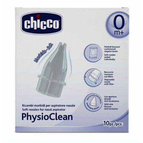 Chicco PhysioClean manuális szívósíphoz alkatrész - 10 db