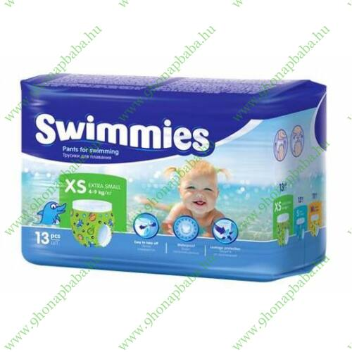Swimmies úszópelenka 4-9 kg-ig (XS-es)