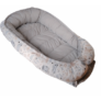 Kép 2/2 - XL többfunkciós babafészek - Dove grey